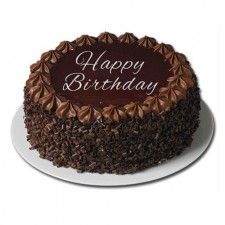 Send Gifts Delivery To Dubai From Australia Gdo Gifts Happy Birthday Chocolate Cake Choco Chips Cake Special Birthday Cakes