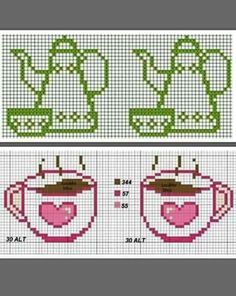 This Pin was discovered by Hic Kawaii Cross Stitch, Cross Stitch Heart, Cross Stitch Borders, Cross Stitch Designs, Cross Stitching, Cross Stitch Embroidery, Cross Stitch Patterns, Cross Stitch Beginner, Christmas Embroidery Patterns