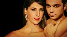 """""""You needed fire so I set myself of fire."""" Mayim Bialik x Jim Parsons"""