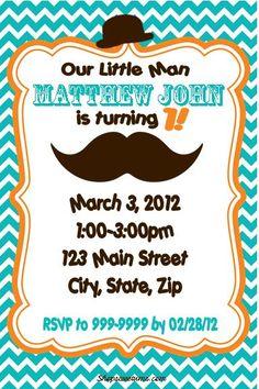 Mustache Bash party