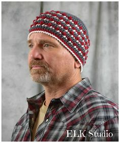 Every guy needs a hat, so why not join us for the next Christmas Present Crochet-Along and make The Mr. Hat for your guy!