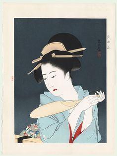 Yu Suzumi, 1933 by Ito Shinsui (1898 - 1972)