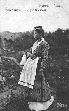 Tatars.Crimea tatar woman