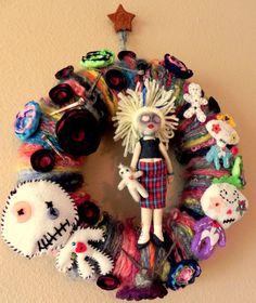 Hoodoo Magick Rootwork:  Voodoo/Hoodoo wreath.