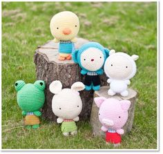 2cute2betrue; crochet toys; amigurumi