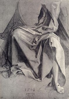 Study of draper - Albrecht Durer