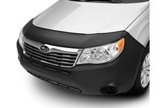 #Forester Front End Cover (Full). Helps protect the front of your vehicle from stone chips. All front covers are custom-fitted, and made from weather-resistant vinyl. MSRP: $139.95 #Subaru #parts #accessories