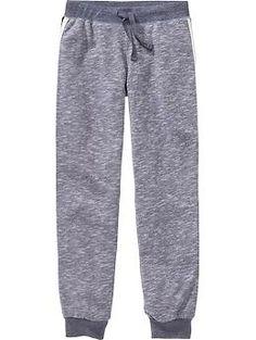 Girls Side-Stripe Sweatpants