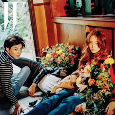 Teamin & Kai & Krystal for W Korea