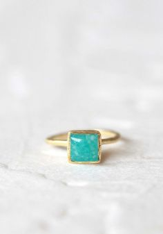 #Ruche                    #ring                     #like #heaven #indie #ring #amazonite               like heaven indie ring in amazonite                                           http://www.seapai.com/product.aspx?PID=492127