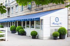 Restauracja Flaming & Co w Warszawie w której odbyło się spotkanie z dziennikarzami