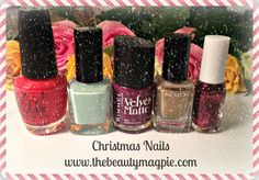 Blogmas Day Three | Christmas Nails  http://www.thebeautymagpie.com/2014/12/blogmas-day-3-christmas-nails.html#more