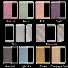 Matte Screen Protector Full Body Bling Glitter Sticker Skin For Apple iPhone Hot - http://phones.goshoppins.com/phones-cases/matte-screen-protector-full-body-bling-glitter-sticker-skin-for-apple-iphone-hot/