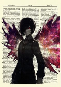 Touka Tokyo Ghoul Anime Dictionary Art Print Poster Picture Book Japanese Manga | eBay