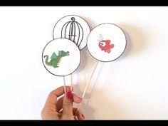 Illusions d'optique rigolotes à imprimer - Activité manuelle - Bricolage enfant - YouTube Photo Illusion, Funny Optical Illusions, Paper Art, Paper Crafts, Diy Carnival, Science Crafts, Diy For Kids, Activities For Kids, Illustration Art