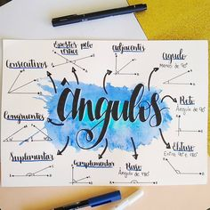 Lettering Tutorial, School Notes, I School, Mental Map, Study Organization, Bullet Journal School, School Study Tips, Study Planner, Study Hard