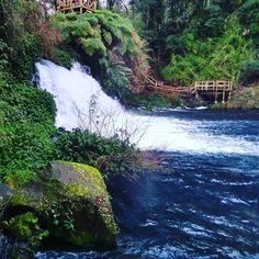 Su color habla por sí solo !! Ojos del Caburgua 😍🏞️ . . . Waterfall, River, Instagram, Outdoor, Nature, Travel, Colors, Outdoors, Waterfalls