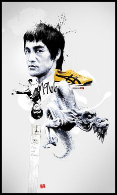 Legend Sneakers - Bruce Lee in Game of Death