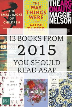 You need to read these books as soon as possible