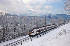 Los Ferrocarriles Suizos programan hasta marzo 205 trenes especiales para esquiadores