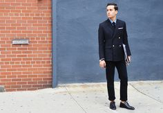Tommy Ton's Men's Street Style at New York Fashion Week: Style: GQ
