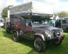 Land Rover One Ten 4 Speed V8 with special build body conversion for expedition.