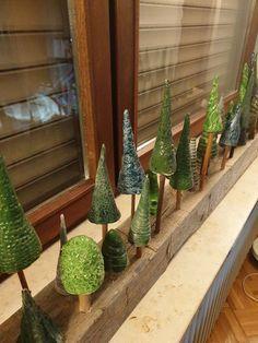 Ton Tannenbäume - #Tannenbäume #ton