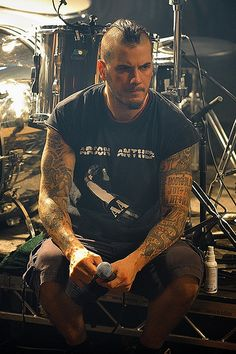 Phil Anselmo (Pantera/DOWN),..MMMMM..Tattooed Southern Boys!