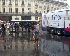 Défilé devant l'Opéra