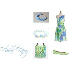 """""""Floral Fairy"""" by meganhartigan on Polyvore #tote #bag #women #accessory #society6 #fashion"""