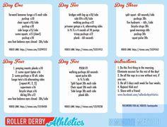 Roller Derby Athletics 8 Minute Method