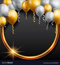 Birthday Photo Frame, Happy Birthday Frame, Birthday Frames, Happy Birthday Balloons, Happy Birthday Images, Birthday Photos, Birthday Background Wallpaper, Balloon Background, Happy Birthday Wallpaper