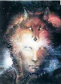 Shaman/Fox. Fox showed up often while the MotherHouse was birthed. #Shaman #Fox