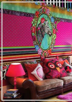 Bláznivý a rozkošný svet Melli Mello Painting Wallpaper, Wall Wallpaper, Cartoon Pics, Cartoon Picture, Interior Wallpaper, Eclectic Modern, Boho Room, Pip Studio, Textured Walls