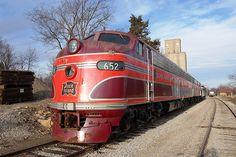 Rock Island EMD E8A Locomotive.