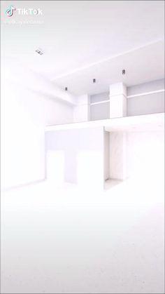 Small House Interior Design, Small Apartment Design, Small Room Design, Modern House Design, Bedroom Decor For Small Rooms, Room Design Bedroom, Home Room Design, Espace Design, Deco Studio