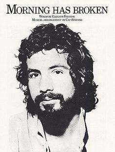 Cat Stevens.  He sang this song at our wedding on June 25, 1977.  Well, not in person.  But still.