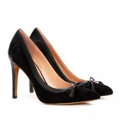 Sonita in black by sole society  from ILoveCuteShoes.com