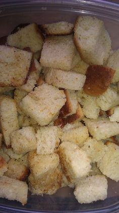 Recipe for Homemade Delicious Croutons