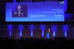 acatech Präsident Henning Kagermann