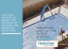 Make the most of sun's energy to save your money. Buy pool covers to maximise the efficiency of energy recevied from the sun. Order now!