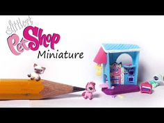 Miniature Littlest Pet Shop Inspired Polymer Clay Tutorial - Pet&Bakery Playset - YouTube