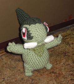 Axew free crochet pattern. Must make for Dylan!