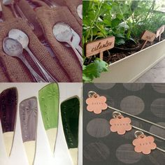 25 great plant markers