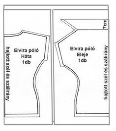 szabásminta Patterns, Straight Dress, Block Prints, Pattern, Fashion Models