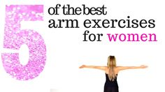 The Best Arm Exercises For Women. Lose arm fat and tone your arms, you don't need any weights and this easy to do home workout will sculpt your arms. So no matter what age you can get your dream arms.