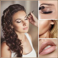 beach wedding makeup - Google Search