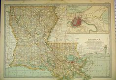 I love this map of Louisiana and think this would be so nice framed and hung up when we buy a house. Great reminder for Joey and the boys of where they came from.