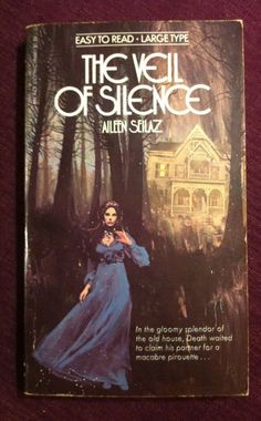 Aileen Seilaz, The Veil Of Silence, Gothic 1965,Ace 1stPrnt, HTF, Muder, Intrigu