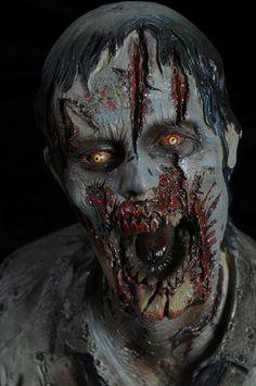 The Walking Dead Zombies Arte Horror, Horror Art, Horror Movies, Walking Dead Zombies, The Walking Dead, Zombie Art, Zombie Makeup, Fx Makeup, Creepy Pictures